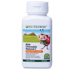 NUTRIWAY® Kids Chewable Natural C - 100 Tablets