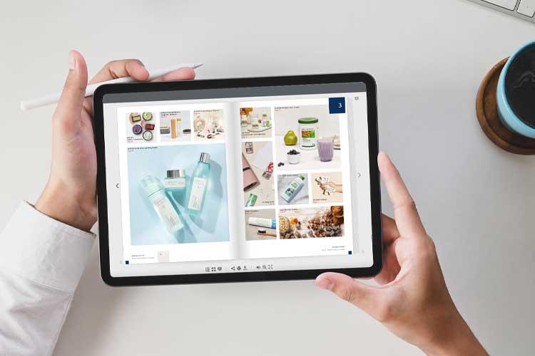 Digital Product Catalogue Banner