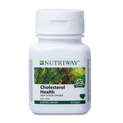 NUTRIWAY® Cholesterol Health - 60 Softgel Capsules